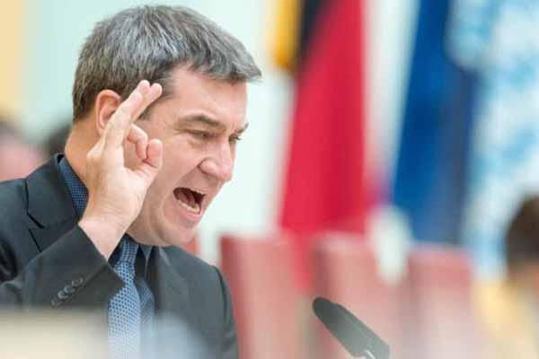 Bayerns Minister Markus Söder will die Asylkosten drastisch senken und vom Komfortstandard auf  einen kostengünstigen Standard wechseln. #Date:04.2016#