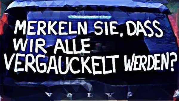 Merkel sie, dass wir alle vergauckelt werden? #Date:04.2016#