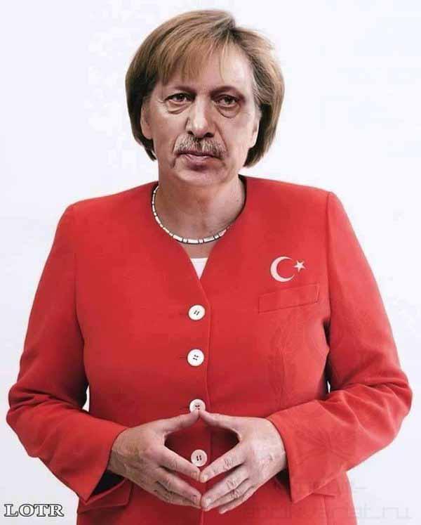 Der Despot Erdogan hat auf Merkel ziemlich stark abgefärbt. #Date:04.2016#