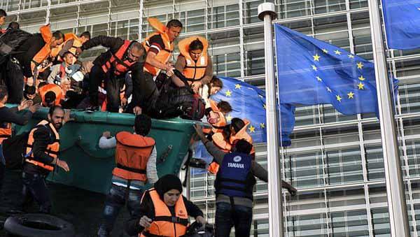 Scharfe Kritik vom Rechnungshof in Brüssel: EU-Asylpolitik wird zum Millionengrab #Date:04.2016#
