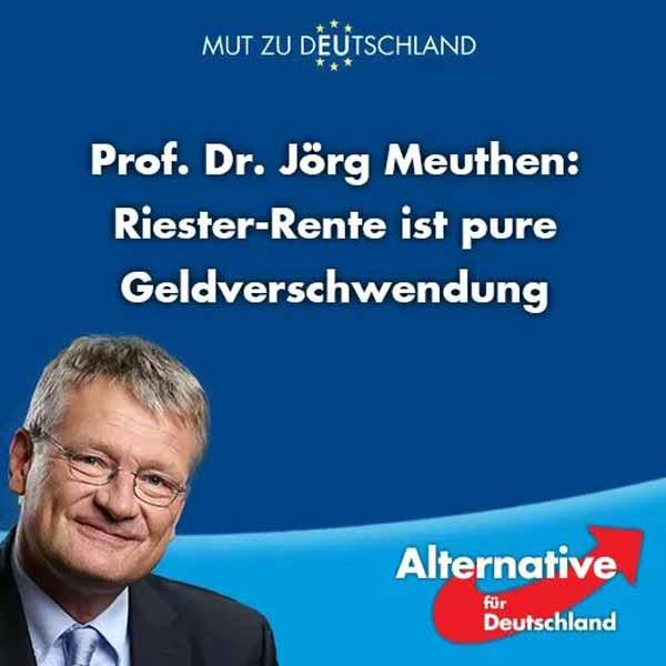 Riester-Rente ist pure Geldverschwendung. Eine beispiellose Bandenkriminalität aus Politik und Versicherungswirtschaft. Volksverdummung. SPD sei Dank. #Date:04.2016#