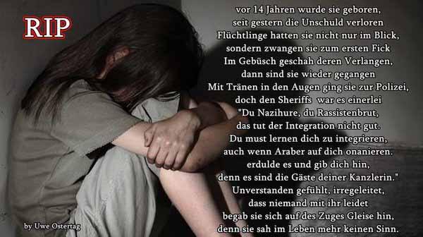 Die Geschichte von Merkels Gästen und den kleinen deutschen Mädchen #Date:04.2016#