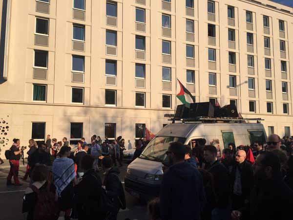 Mai-Demo der linksextremen Szene mit pro-palästinensischen und antisemitischen Anstrich #Date:05.2016#