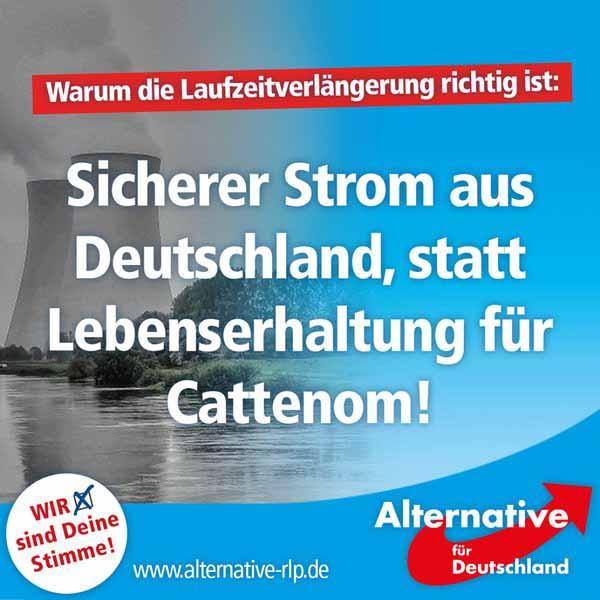 Die sichersten Atomkraftwerke der Welt stehen in Deutschland. Ringsum von Schrottmeilern in Europa umringt.  #Date:05.2016#
