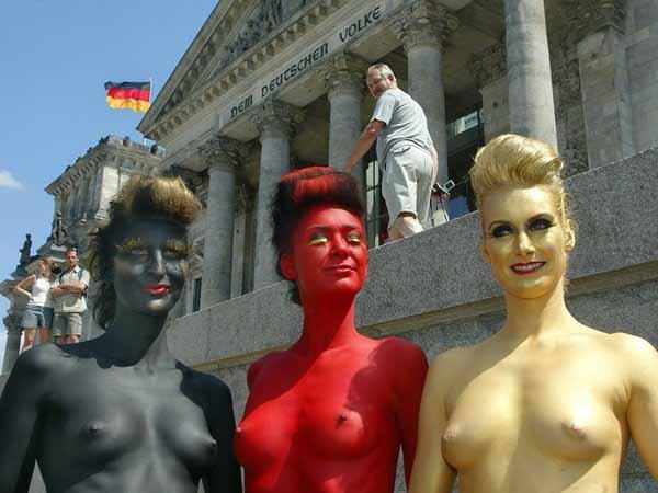 Freiheit will gelebt werden. Wir stehen auf schwarz – rot – gold #Date:05.2016#