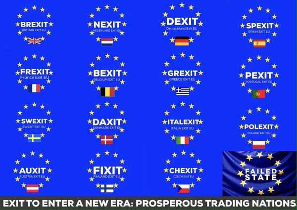 Die EU wackelt immer mehr als politische Union. Zurück zur Wirtschaftsunion, einer Union der Vaterländer. #Date:05.2016#