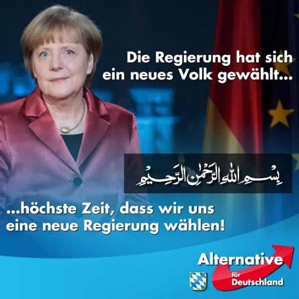 Die Regierung hat sich ein neues Volk gewählt, höchste Zeit, dass wir uns eine neue Regierung wählen. #Date:05.2016#