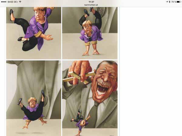 Die türkische Humorkanone Erdogan spielt mit Merkel #Date:05.2016#
