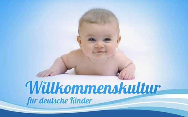 Willkommenskultur für deutsche Kinder. #Date:05.2016#