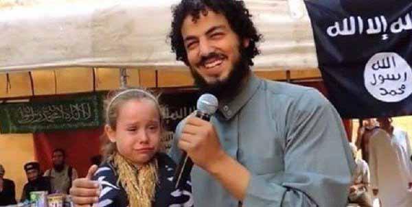 Dieses Bild ist ein Alptraum für Kulturmenschen. Mädchen in der Hand von Moslems #Date:05.2016#