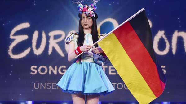 Null Punkte für Merkel beim European Song Contest ESC. #Date:05.2016#
