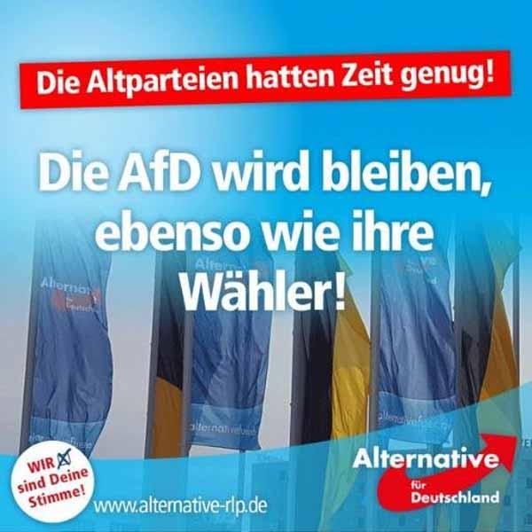 Die Altparteien hatten genug Zeit. Die Alternative für Deutschland AfD wird bleiben und wenn der Spiegel noch so viel Dreck ausspruckt #Date:05.2016#