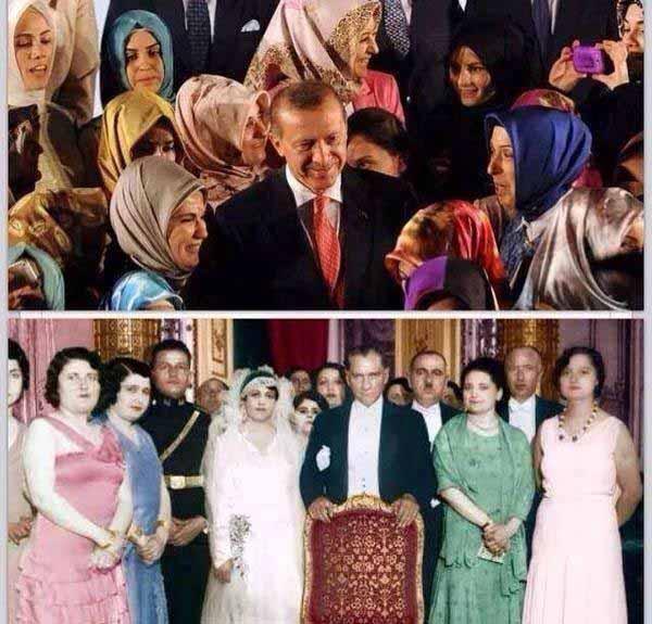 Die Islamisierung der Türkei unter Erdogan. Ein Bild sagt mehr als tausend Worte. #Date:05.2016#
