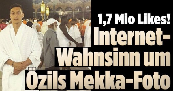 Vorzeige-Moslem Mesut Ösil hat noch niemals die Nationalhymne mitgesungen #Date:05.2016#