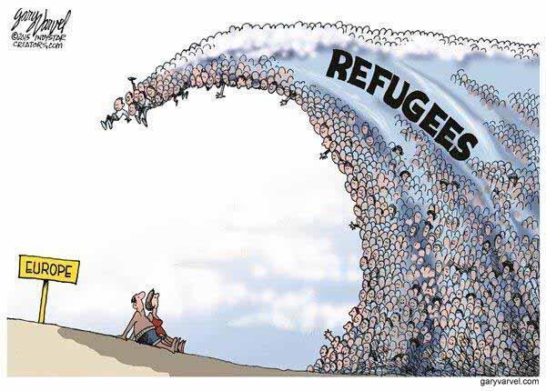 Die Monster-Flüchtlingswelle über Europa #Date:01.2016#