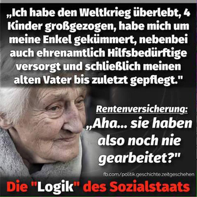 Die perverse Logik des deutschen Sozialstaats. Ohne Worte. #Date:05.2016#