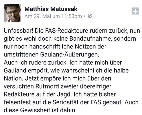 Der Fall FAZ. Lügenpresse der schlimmsten Art im Fall um das Interview mit Alexander Gauland AfD und dem Fussballer Boateng. #Date:05.2016#