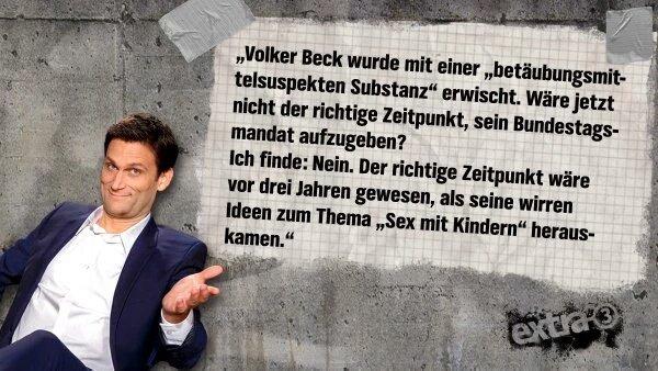 Viele regen sich über den Rauschgift fund bei dem Grünen-Politiker Volker Beck auf. Scheinbar keinen interessieren seine perversen Ideen zum Thema Kindersex, Beschneidung und Schächten. #Date:06.2016#