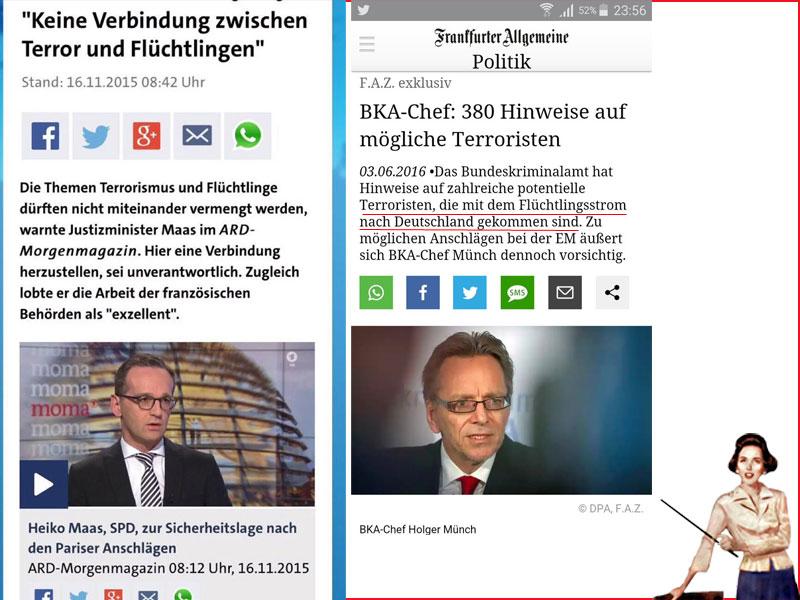Bundesjustizminister Heiko Maas SPD bei Desinformation und Belügen der Bürger erwischt. #Date:06.2016#