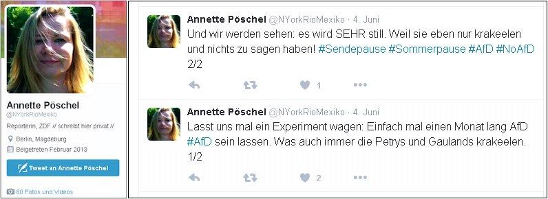 ZDF Reporterin philosophiert darüber, ob was in den Nachrichten kommt oder nicht. Lügenpresse, Lückenpresse, Qualitätsjournalismus #Date:06.2016#