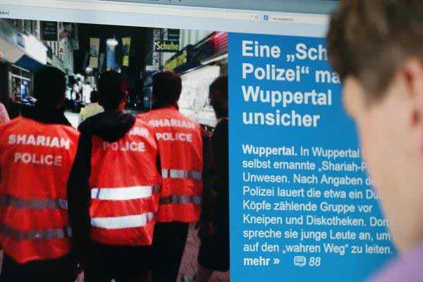 Scharia-Polizei in Wuppertal #Date:12.2015#
