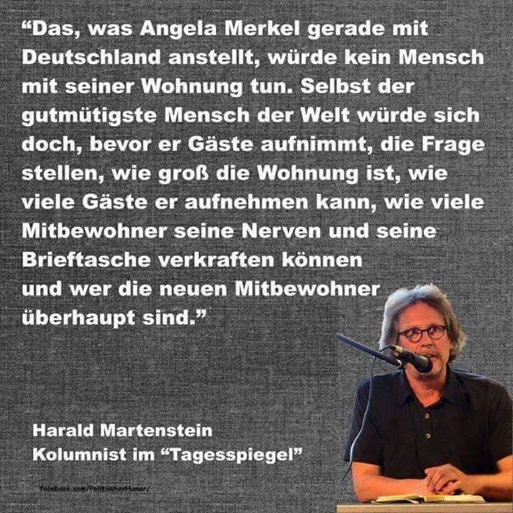 Journalist zur toxischen Asylpolitik von Angela Merkel CDU #Date:06.2016#