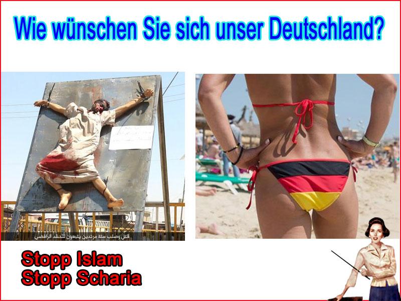 Suchen Sie sich aus, welches Deutschland sie haben wollen. Man sieht sich 2017 #Date:06.2016#