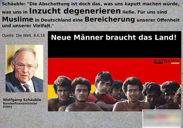 Neue Männer braucht das Land. Die surreale Vorstellung von Inzucht-Schäuble CDU  #Date:06.2016#