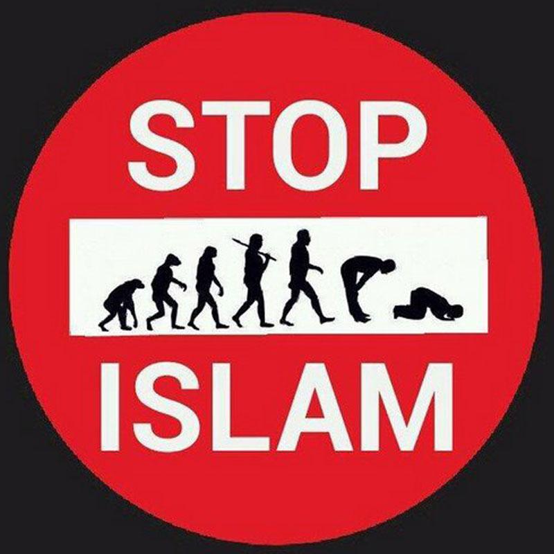 Stop Islam. Menschheits-Entwicklung vom Affen zum Menschen zurück zum Moslem #Date:06.2016#