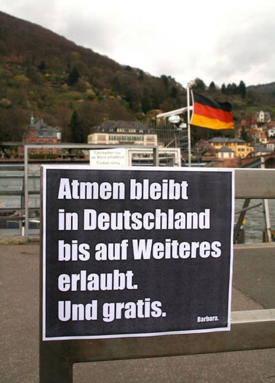 Atmen bleibt in Deutschland vorerst erlaubt und kostenfrei. Es sei denn, Schäuble braucht Geld für die MigrantenInvasion #Date:06.2016#