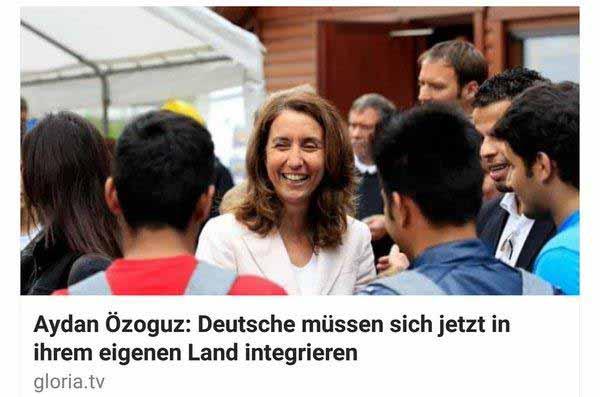 Aydan Özuguz sagt, dass sich Deutsche integrieren müssen #Date:12.2015#