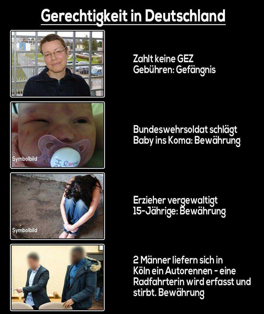 Die Entwicklung der gesellschaftlichen Werte in Deutschland lässt Dunkles ahnen. #Date:06.2016#