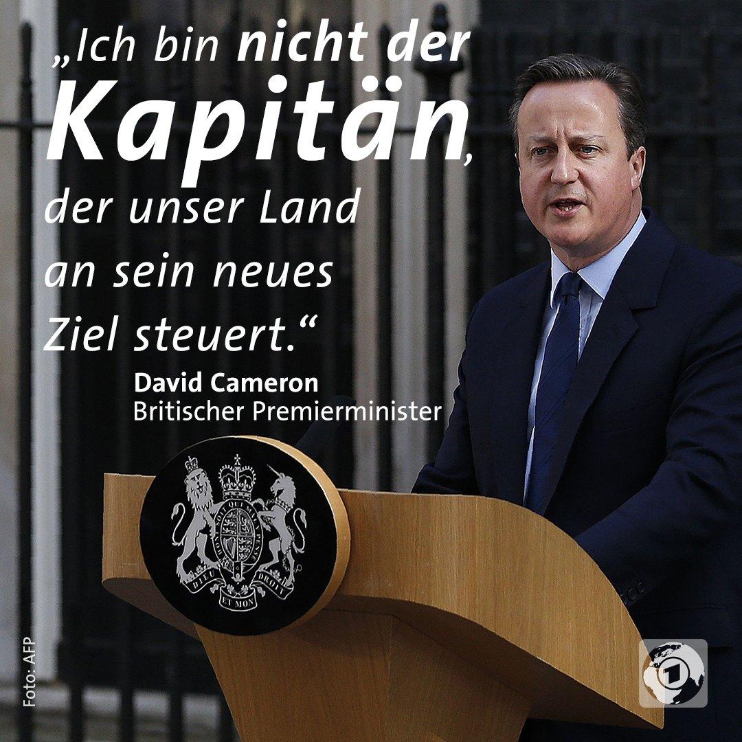 David Cameron, britischer Premierminister, zieht nach dem Brexit den Schwanz ein und stellt sich nicht dem Votum des Volkes. Cameron ist ein LOSER #Date:06.2016#