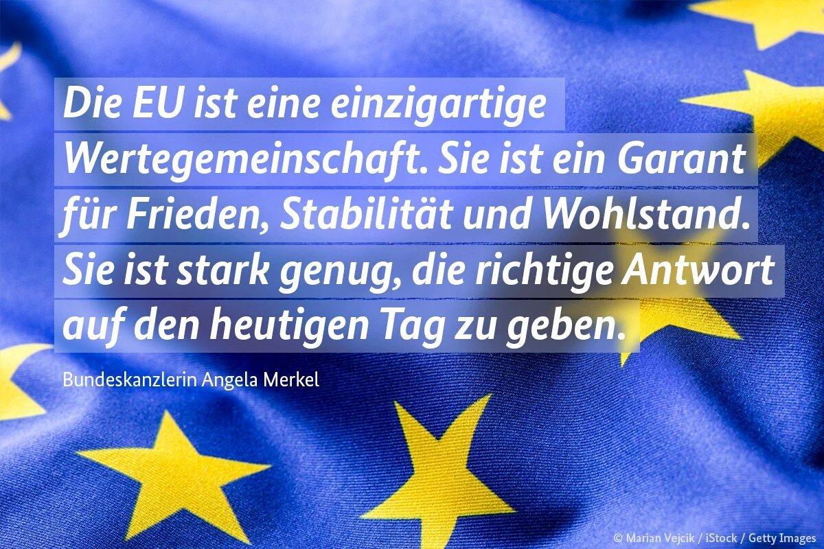 Merkel einen Tag nach dem Brexit weiter auf Verdummungskurs. Weg mit EU-Superstaat, her mit Europa der Vaterländer #Date:06.2016#
