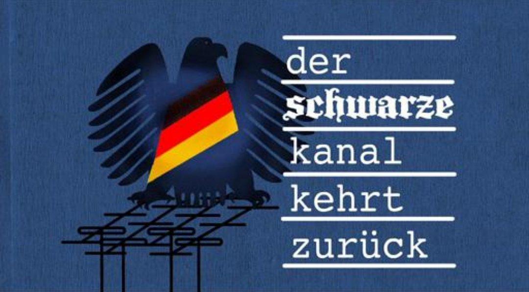 Der schwarze Kanal aus DDR-Zeiten kehrt zurück. ARD und ZDF verstehen sich als Merkel-Funk. #Date:06.2016#