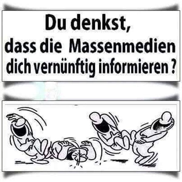 Und DU glaubst tatsächlich und allen Ernstes, dass ARD und ZDF DICH neutral informieren? Geh basteln! #Date:06.2016#