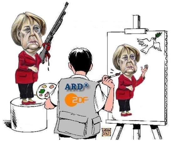 Bild zum Thema Mal ein Blick auf ZDF und ARD bei der Arbeit. Und siehe da: Lügenpresse, Lückenpresse, Schweigepresse, Pinocchiopresse. Passt schon.