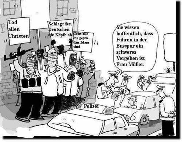 Wir haben keine Zeit für Ausländerkriminalität, wir müssen deutsche Verkehrssünder abkassieren #Date:12.2015#