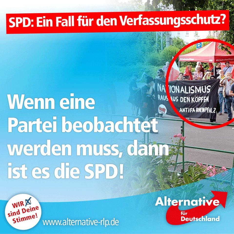 Die Altparteien fordern, die AfD Alternative für Deutschland vom Verfassungsschutz überwachen zu lassen. Dabei haben sie selbst jede Menge Dreck am Stecken. Grüne, Linke, SPD unterstützen die politische Gewalt ausübende ANTIFA. #Date:07.2016#