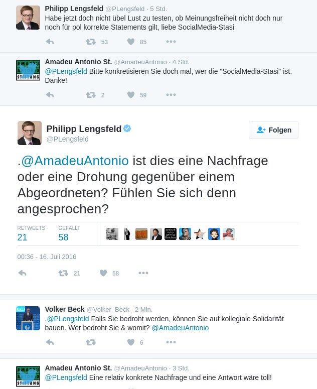 Bild zum Thema CDU Bundestagsabgeordneter Philipp Lengsfeld stellt die für Zensurminister Heiko Maas SPD im Rahmen der Internet-Task-Force gegen #hatespeech tätige Antonio-Amadeu-Stiftung zur Rede.