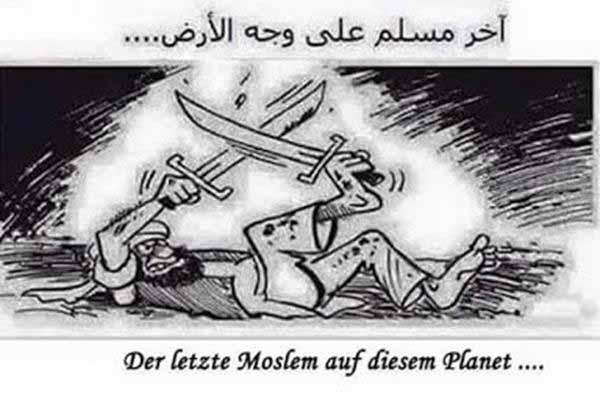 Der letzte Moslem kämpft mit sich selber bis zum Tod #Date:#
