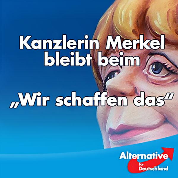 Die Bundeskanzlerin Merkel auf ihrer vorgezogenen Jahrespressekonferenz im Juli 2016. Naives Aussitzen und als 9 Punkte-Plan verkaufen, was ihr andere schon vor 11 Monaten ins Stammbuch schrieben. Ein einziges unfassbar alternativloses Elend. Zustände wie beim Karneval. #Date:07.2016#