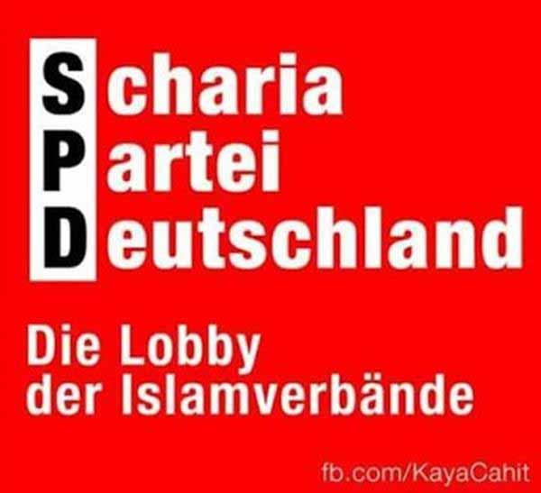 SPD – Scharia Partei Deutschland. Lobby der Islamverbände #Date:12.2015#