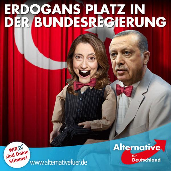 """Türkischstämmige Abgeordnete des Bundestags werden von türkischen Organisationen unter Druck gesetzt, und die Integrationsbeauftragte des Bundestags, Aydan Özoguz, macht sich zum Sprachrohr Erdogans: Es geht um die Abstimmung zur Armenien-Resolution, in der das Massaker an 1,5 Millionen Armeniern als das bezeichnet wird, was es war: Völkermord. Özoguz lehnt das ab und bezeichnet die Resolution als """"Instrumentalisierung"""".   https://www.tagesschau.de/inland/armenien-resolution-proteste-103.html #Date:05.2016#"""