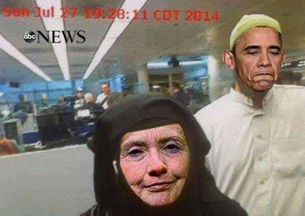 Moslems Merkel und Obama #Date:12.2015#