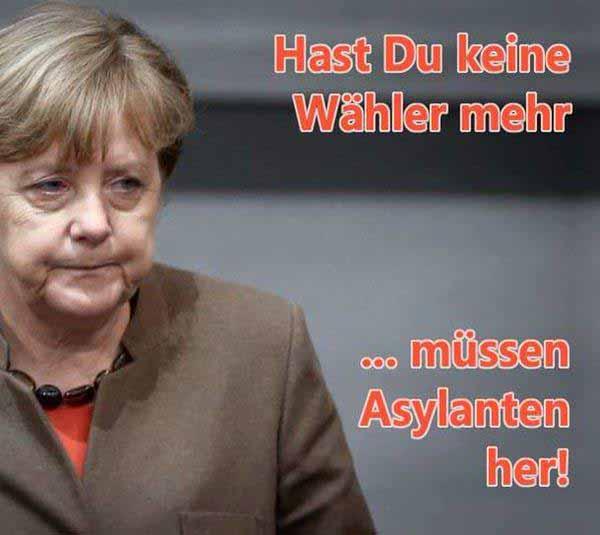 Hast du keine Wähler mehr, müssen Asylanten her #Date:12.2015#