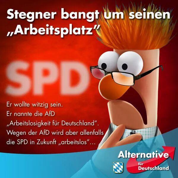Bild zum Thema SPD Ralf Stegner, der unbestrittene Klamauk-Meister auf Twitter, darf getrost um seinen Arbeitsplatz als Bundestagsabgeordneter bangen.