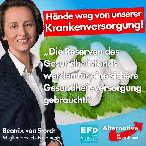 CDU-Minister Hermann Gröhe will für Merkels verfehlte Flüchtlingspolitik die Rücklagen im Gesundheitssystem plündern. Alte und kranke Menschen sollen jetzt für die Masseneinwanderung den Preis bezahlen. #Date:08.2016#