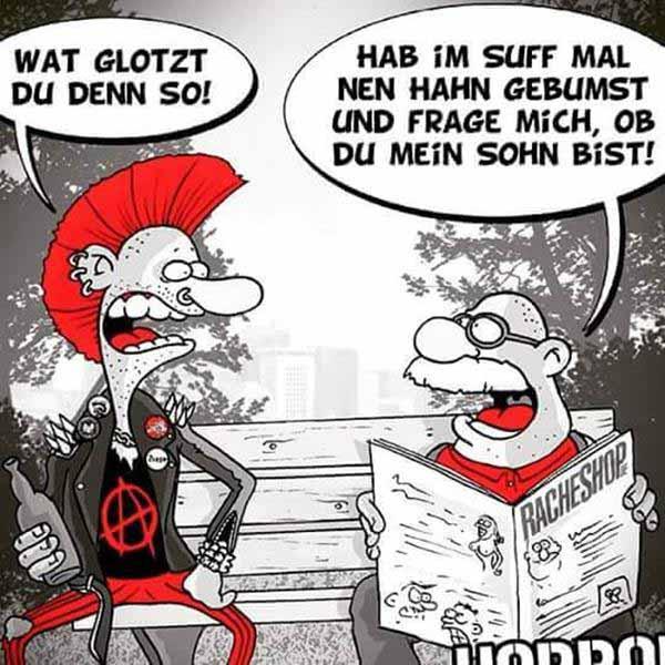 Antifa-Kretin und sein Geflügel fickender Daddy #Date:12.2015#