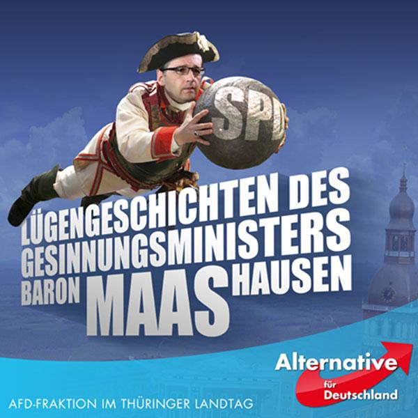 Die Lügengeschichten des SPD Gesinnungsministers Baron MAAS-hausen.